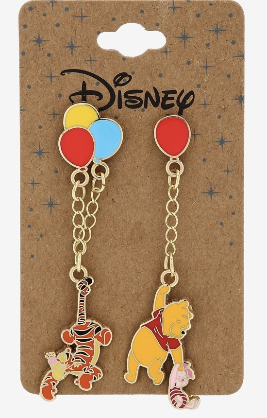Winnie the Pooh Balloons Dangling Recycled Metal BoxLunch Disney Pin