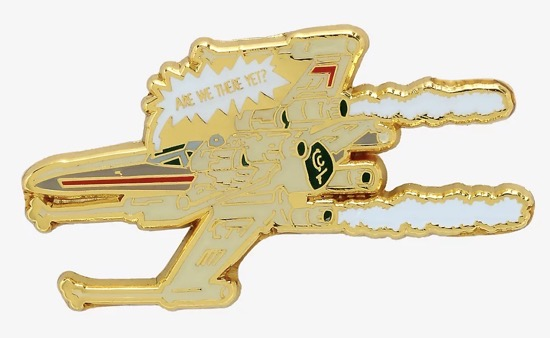 X-Wing Are We There Yet BoxLunch Pin