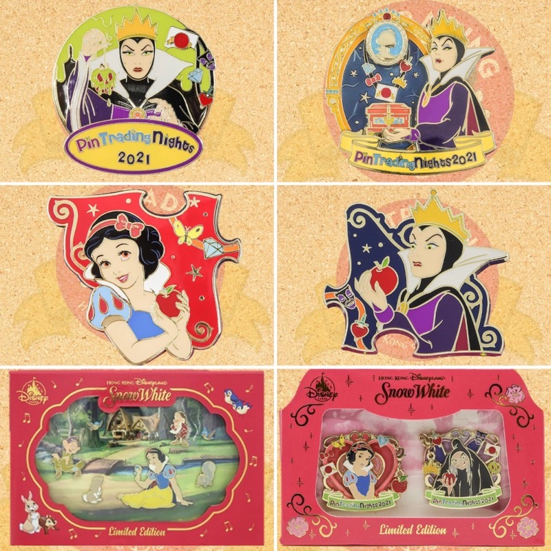 HKDL May 2021 Pin Trading Night Releases