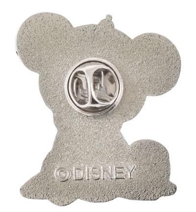 Back of UniBEARsity Princess Bear 10th Anniversary Pin