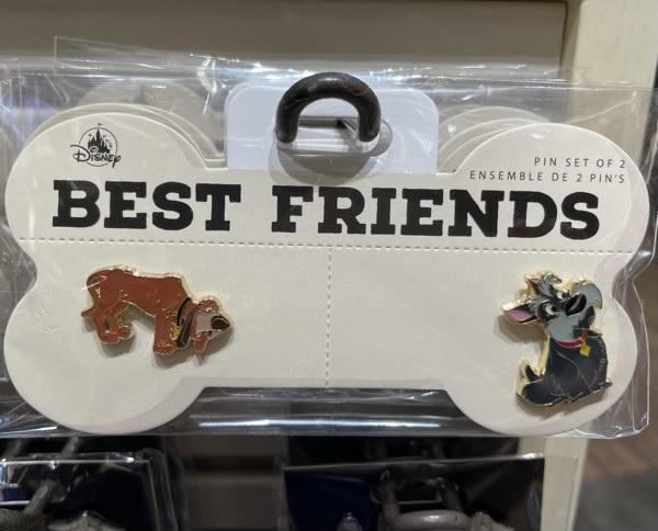 Best Friends Disney Dogs Pin Set