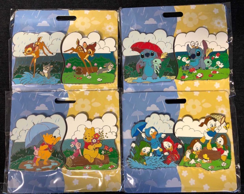 April Showers Bring May Flowers WDI Pins