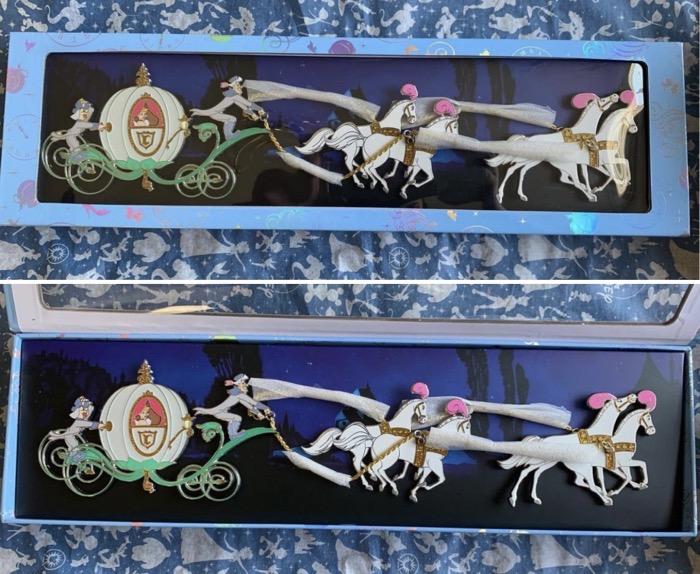 Cinderella Carriage Jumbo WDI Pin