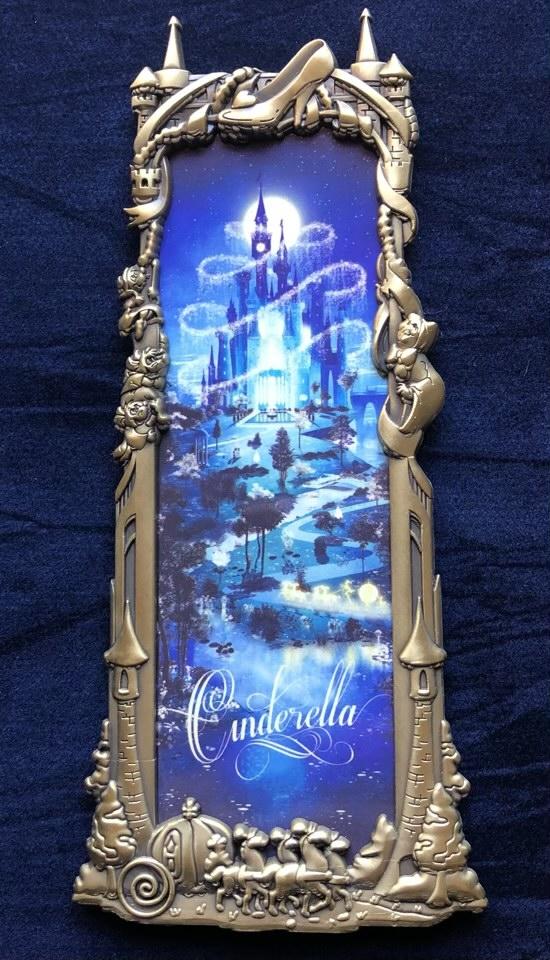 Cinderella Gold Ben Harman ArtLand Disney Pin