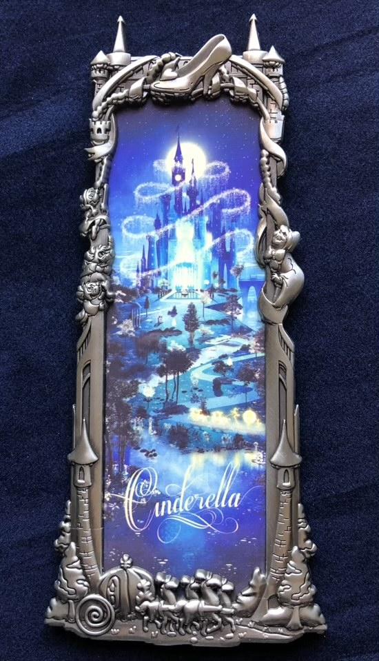 Cinderella Silver Ben Harman ArtLand Disney Pin