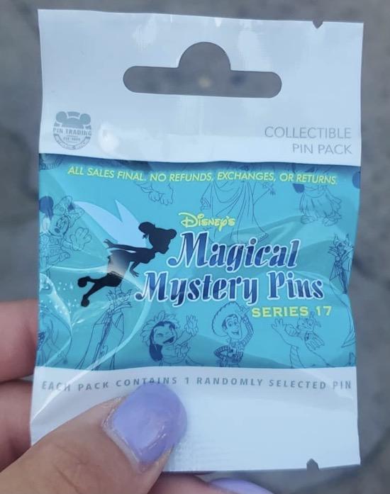 Disney Magical Mystery Pins Series 17