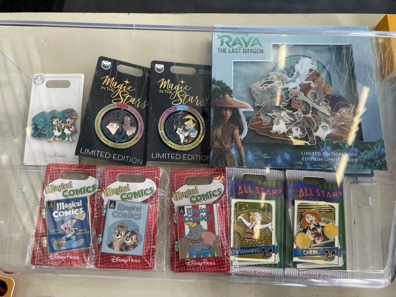 Disney Pins May 2021 - Gateway Gifts Epcot 2