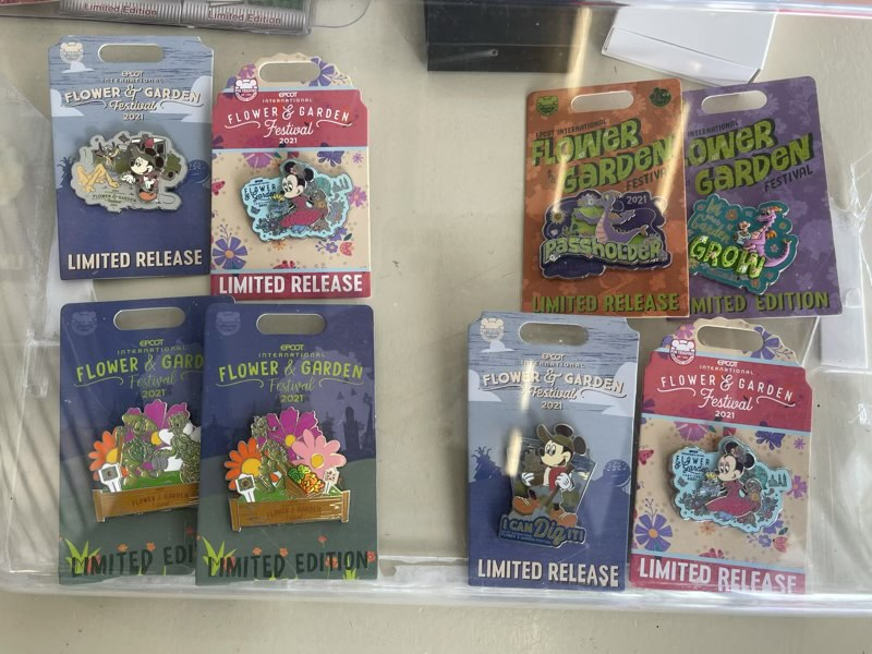 Disney Pins May 2021 - Gateway Gifts Epcot 3