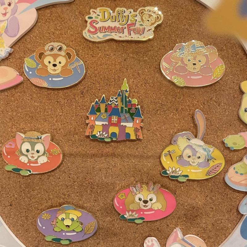 Duffy's Summer Fun 2021 Shanghai Disney Pins