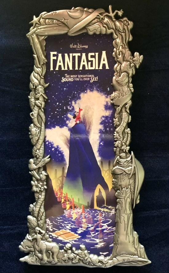 Fantasia Silver Ben Harman ArtLand Disney Pin