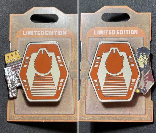 Hondo Ohnaka & R5-P8 Star Wars Pin