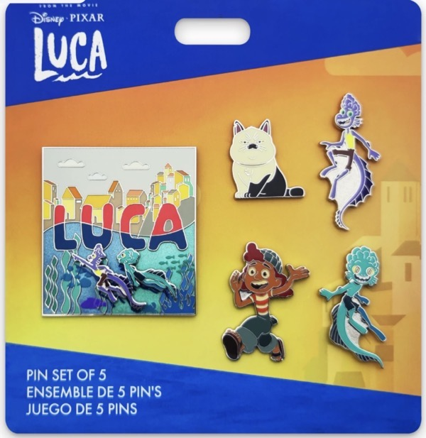 Luca Limited Edition Pin Set at shopDisney
