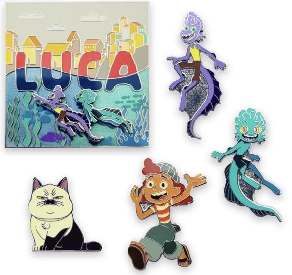 Luca shopDisney Pin Set