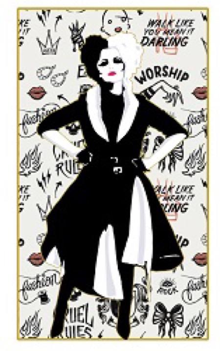 Magazine Cover Cruella Pin