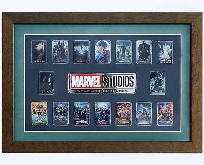Marvel Studios A Universe of Heroes Framed Pin Set