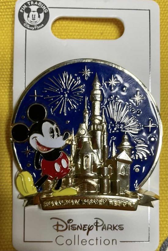 Mickey Sculpted Castle - Shanghai Disney Resort Pin