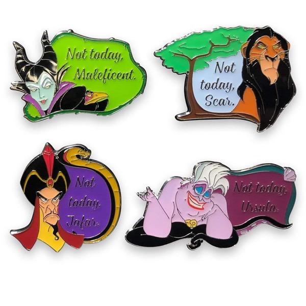 Not Today, Villains Disney Pins