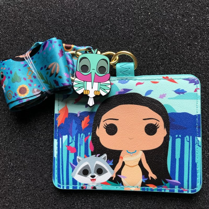 Pocahontas Loungefly Cardholder Lanyard