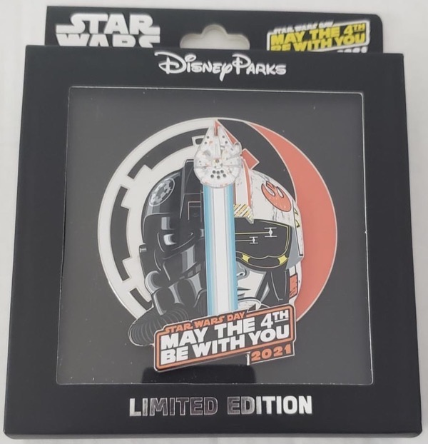 Star Wars Day 2021 Jumbo Disney Pin