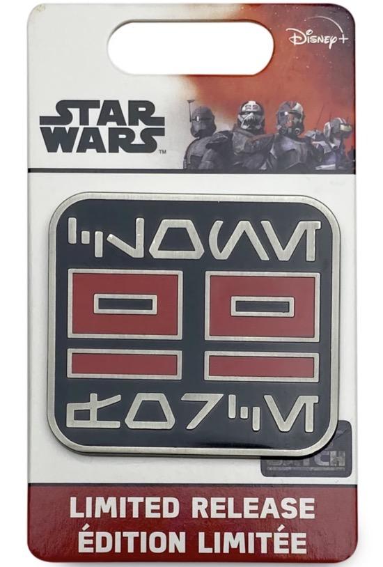 Star Wars The Bad Batch Aurebesh Pin