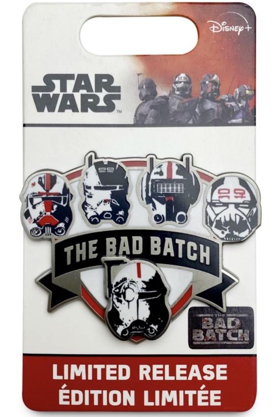 Star Wars The Bad Batch Helmet Pin