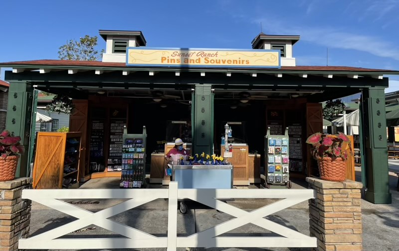 Sunset Ranch Pins and Souvenirs Reopens at Disney's Hollywood Studios
