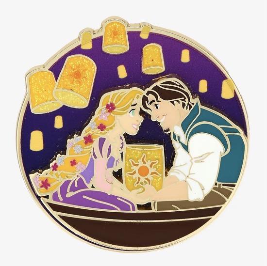 Tangled Rapunzel & Flynn Lanterns BoxLunch Pin