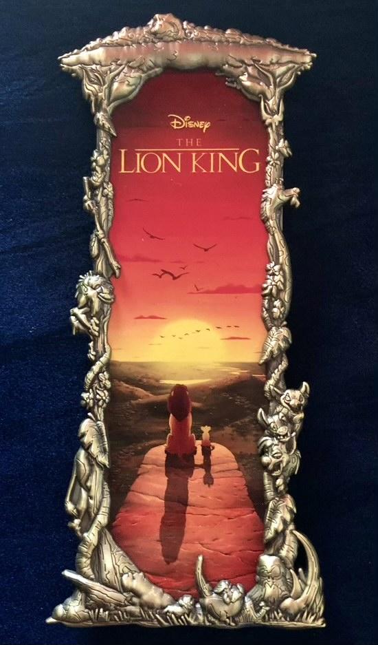 The Lion King Gold Ben Harman ArtLand Disney Pin