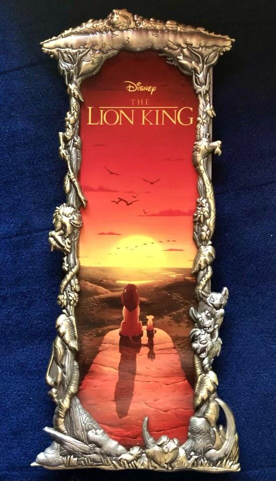 The Lion King Two Tone Ben Harman ArtLand Disney Pin