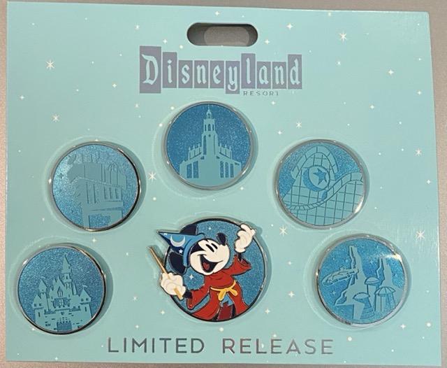 The Magic is Back Disneyland Pin Set