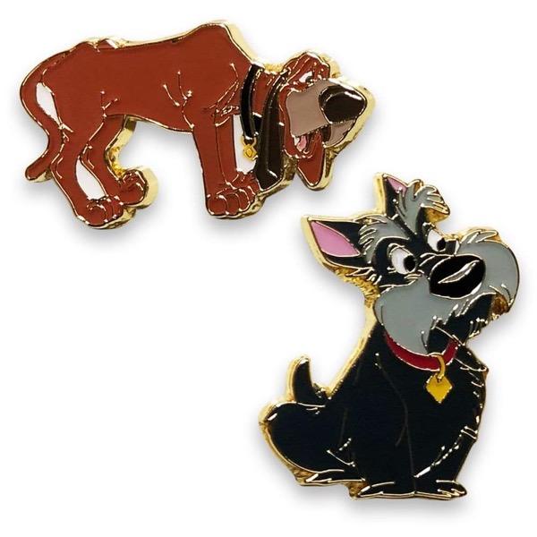 Trusty and Jock Best Friends Disney Pin Set