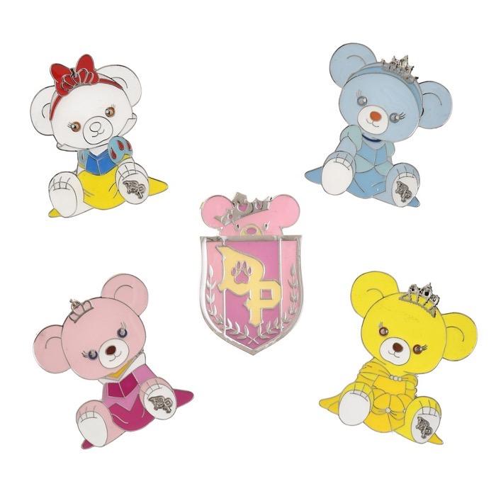 UniBEARsity Princess Bear 10th Anniversary Pins 1