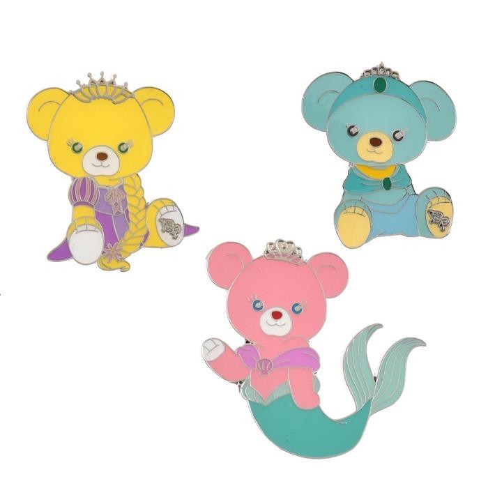 UniBEARsity Princess Bear 10th Anniversary Pins 2