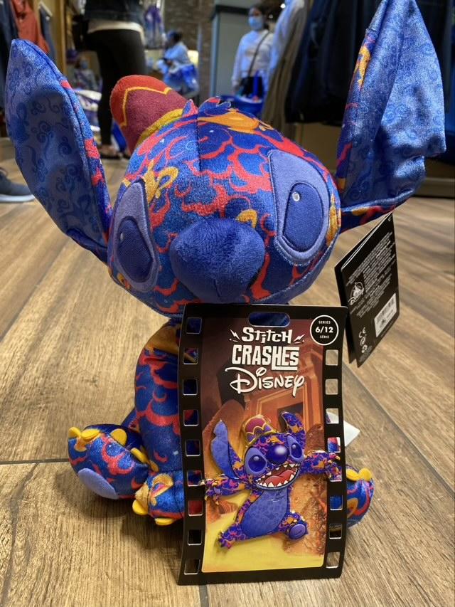 Aladdin – Stitch Crashes Disney Pin Series 6
