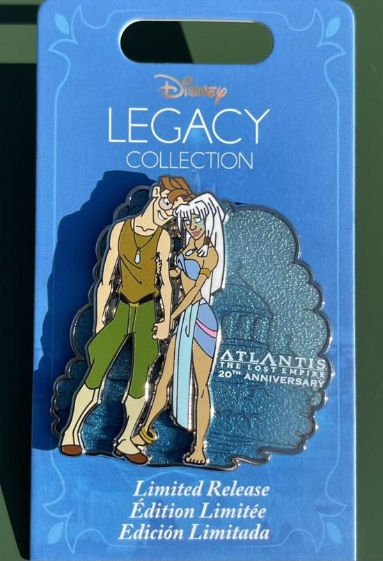 Atlantis The Lost Empire 20th Anniversary Disney Pin