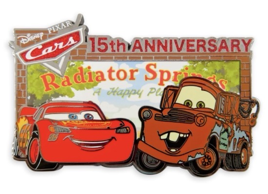 Cars 15th Anniversary Pin - shopDisney