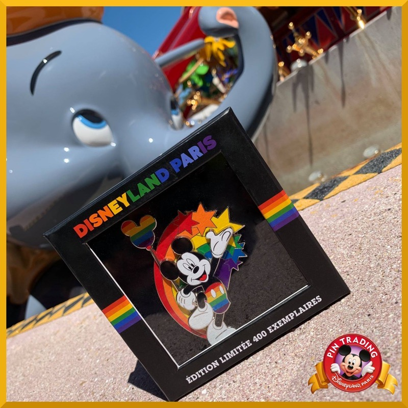 Castle Rainbow 2021 Disneyland Paris Jumbo Pin