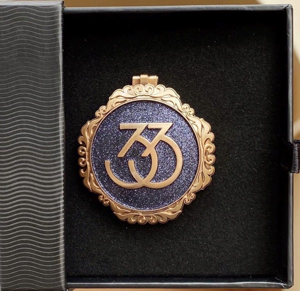 Club 33 Exclusive Shanghai Disney Resort 5th Anniversary Pin