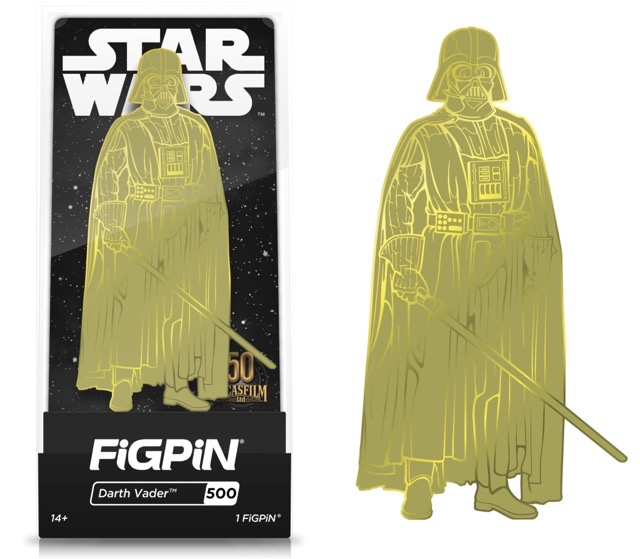 Darth Vader Lucasfilm 50th Anniversary Limited Edition FiGPiN