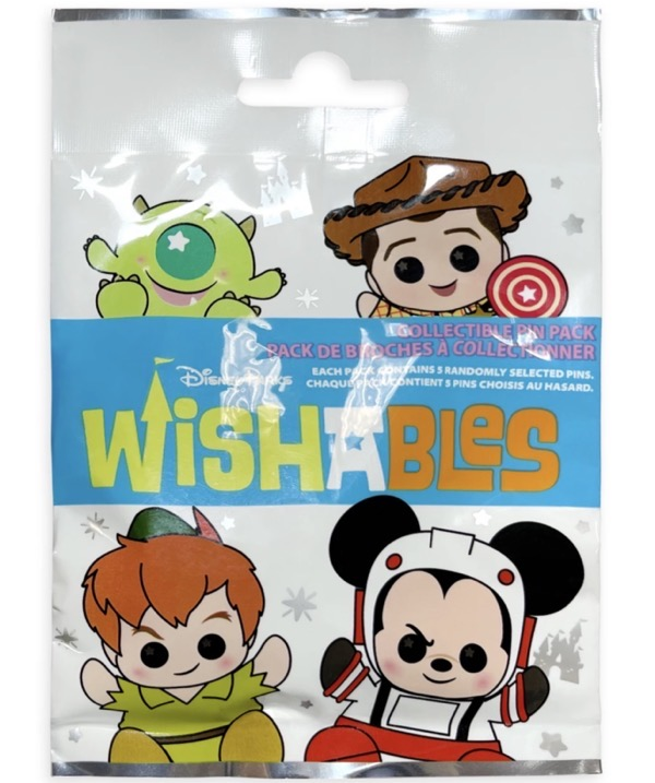 Disney Parks Wishables Series 2 Collectible Pin Pack