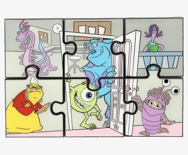 Disney Pixar Monsters, Inc. Puzzle Blind Box Pin Set at BoxLunch