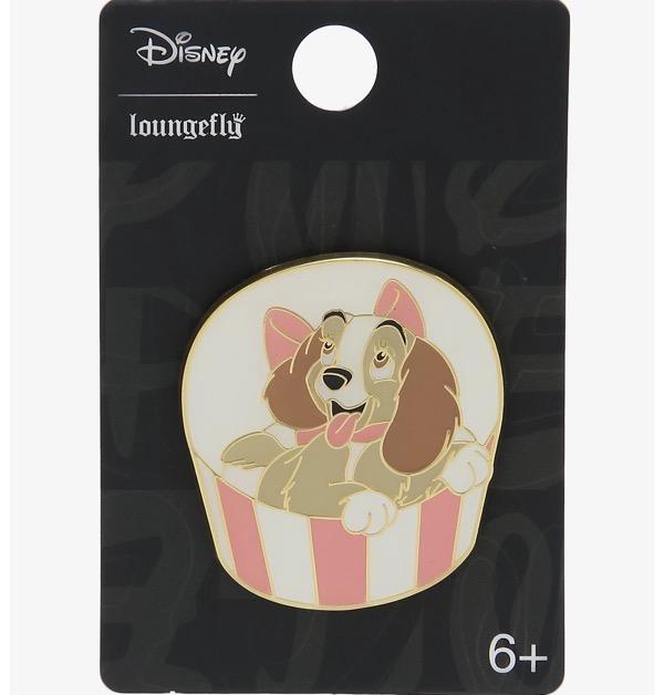 Lady in Gift Box Disney Pin at Hot Topic