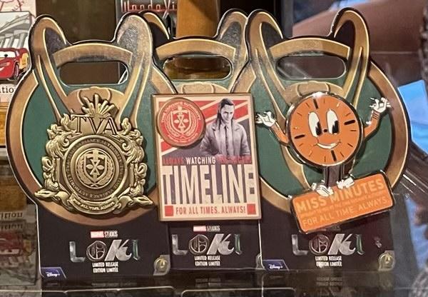 Loki Limited Release Marvel Pins
