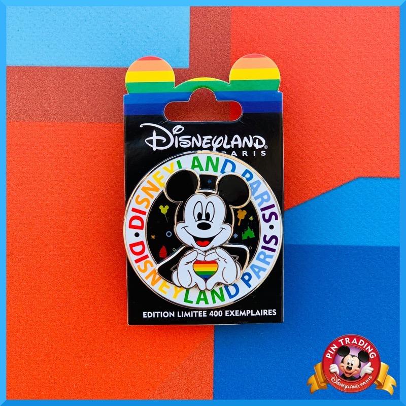 Mickey Rainbow 2021 Disneyland Paris Pin