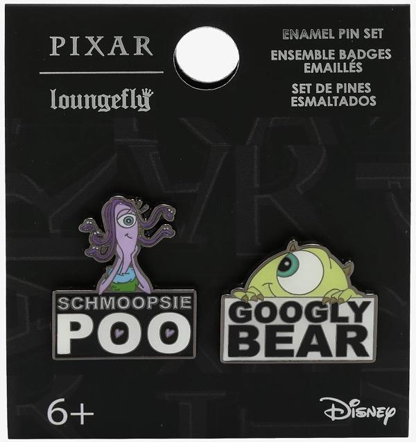 Mike & Celia Monsters, Inc. BoxLunch Disney Pin Set