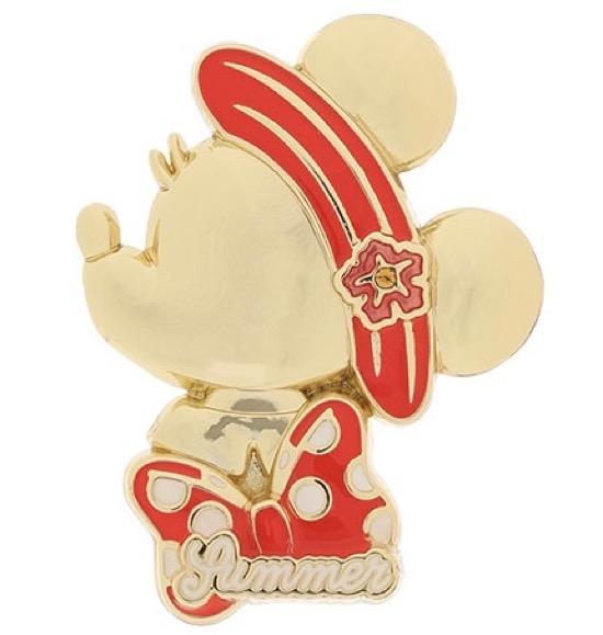 Minnie Mouse Summer 2021 Tokyo Disney Resort Pin
