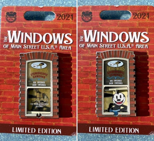 Oswald – Windows of Main Street U.S.A® Area Disney Pin