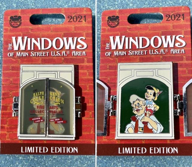 Pinocchio – Windows of Main Street U.S.A® Area Disney Pin