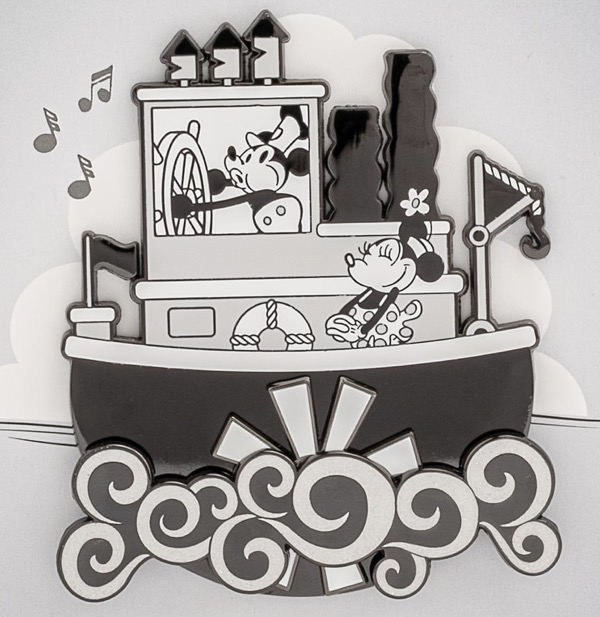 Steamboat Willie LE 1,000 Loungefly Pin