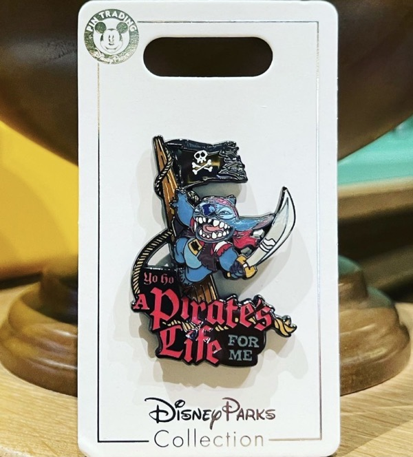 Stitch Pirates Pin at Shanghai Disney Resort